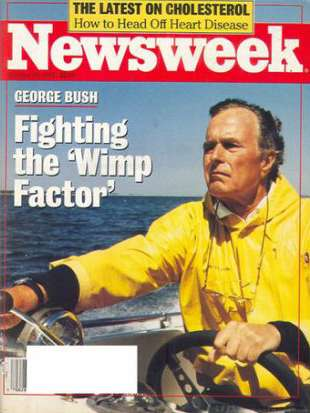 Jenna Bush Hager says Newsweek cover calling George H.W. Bush a 'wimp' confused her: 'He was our hero'