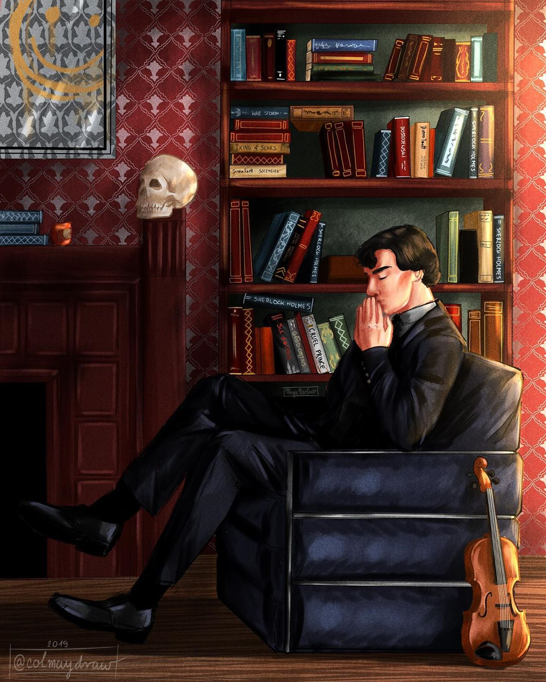 High functioning sociopath from 221B Baker Street, obviously. I keep making a rewatch of…