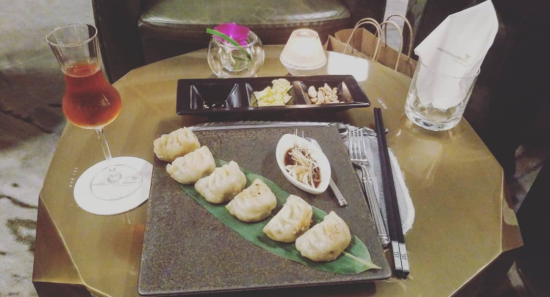 Acquired some gyoza and a few sake. What might be higher? #meals #singapore #singaporefood